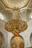 Gran mezquita de abu dhabi — Foto de Stock