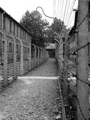 Auschwitz Concentration Camp, Poland — Stock Photo