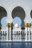 Mešita abú dhabí — Stock fotografie