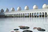 Abu Dhabi Grand Mosque — Stock Photo