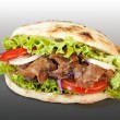 Stock Photo: Doner kebab sandwich