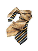 Two of twisted of striped ties — Stock Photo