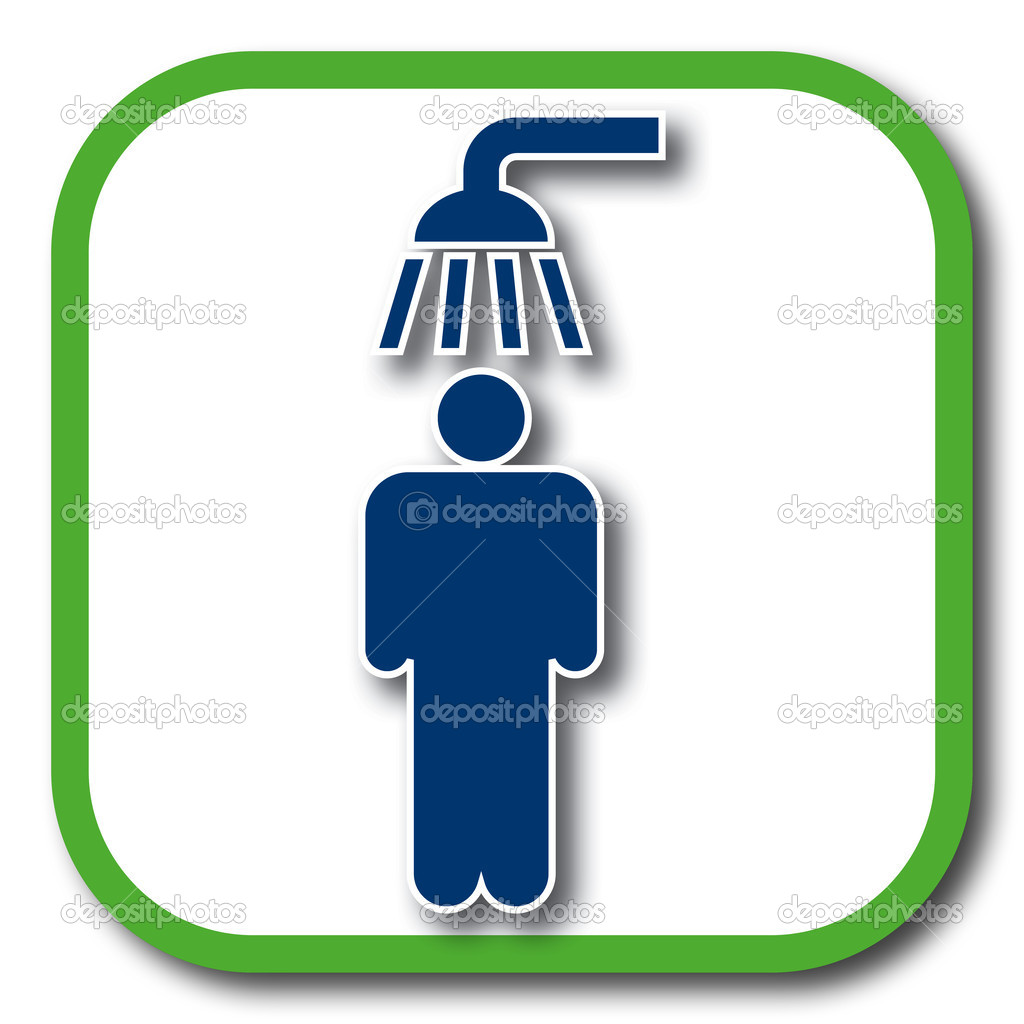 Shower Icon Vector Shower Icon — Vector by