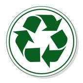 Web ikonen för kommunikation - återvinna — Stockvektor