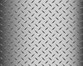 Background of metal diamond plate — Stock Photo