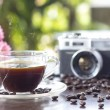 Beautiful coffee still life — Stock Photo