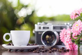 Beautiful coffee still life — Stock Photo
