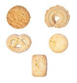 Set of few different tasty cookies — Stock Photo