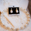 Wedding accessories for bride — Stock Photo