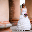 Stock Photo: Bride on wedding day