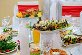 Banquet snacks — Stock Photo