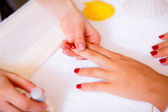 Spa treatments for hands — Stockfoto