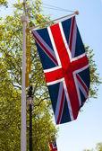 The Union Jack, the United kingdom Flag — Stock Photo