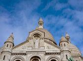 Paris, Nov 29: bottom view of the church of the sacred heart. — ストック写真