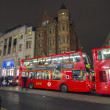 Stock Photo: LONDON - DEC 7: Classic double decker bus, December 7, 2012 in