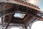 Details of Eiffel Tower. — Stock Photo