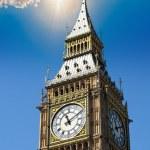 Big ben, la Torre dell'orologio di Londra — Foto Stock #26280357