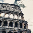 Stock Photo: Colosseuym with beautifull sky