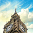 London, The Big Ben with Beautiful sky — Stock Photo