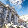 Details of the Fontana di Trevi, Rome — Stock Photo