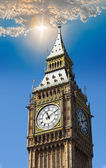 Big Ben, The Tower Clock in London — ストック写真