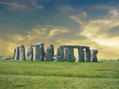 Details of Stonehenge with beautiful sky. — Stockfoto