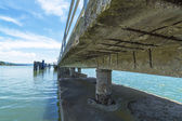 Details of the Pier. — Stock Photo
