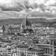 Stock Photo: Skyline of Florence with Duomo