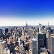 Aereal view of Manhattan, NYC — Stock Photo
