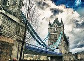 Beautiful view of Tower Bridge in London — 图库照片