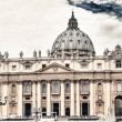 Stock Photo: Vaticwith beautifull sky.