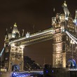 London Bridge by night — Stock Photo