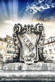S.P.Q.R. - Rome — Stock Photo