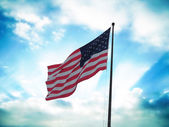 Flagga sverige — Stockfoto