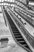 Escalator in underground Station, London — Stock Photo