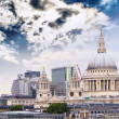 Stock Photo: St. Paul Cathedral with beautiful sky