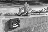 Particular view of London Bridge — Стоковое фото