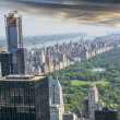 Aereal view of Central Park, NYC — Stock Photo #38680579