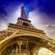 The Eiffel Tower from below — Stock Photo #40316071
