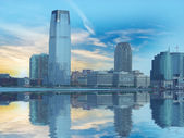 New Jersey Skyline from Manhattan — Foto Stock