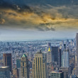 Stock Photo: Beautiful aereal view of Manhattan