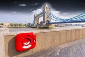 Particular view of London Bridge — Stock Photo