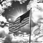 Flag of United States of America — Stock Photo