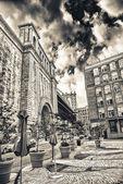 Beautiful view of Manhattan Bridge — Stock Photo