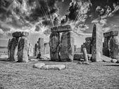 Stonehenge with beautiful sky — Stok fotoğraf