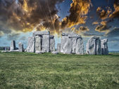 Beautiful view of Stonehenge site — Stockfoto