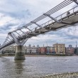 Stock Photo: Millenium Bridge