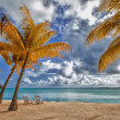 Stock Photo: Beautiful view of beach in Polynesia