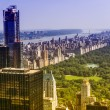 Stock Photo: Aereal view of Central Park, NYC