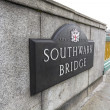 Stock Photo: Southwark Bridge sign